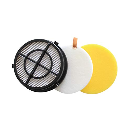 Iusun 3PC HEPA Filter Replacement Parts Spare Kits For Bissell Style 16871 Vacuum Cleaner Sweeping Accessories Set (White)