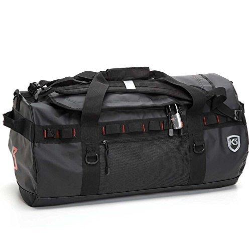 Excursion Bag - K3 Excursion Duffle Bag, Black, 40 Liter