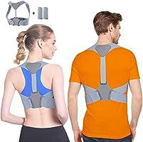 Corrector de Postura Anoopsyche Corrector Postura Espalda Mejorar Postura, Ideal para Aliviar el Dolor de Cuello y Hombro...