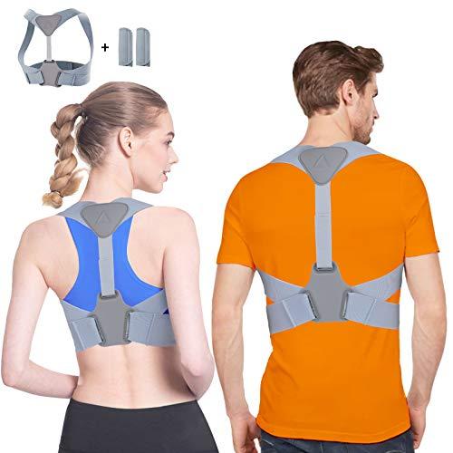 🥇 Corrector de Postura Corrector Postura Para Hombre y Mujer Espalda Férulas para espalda