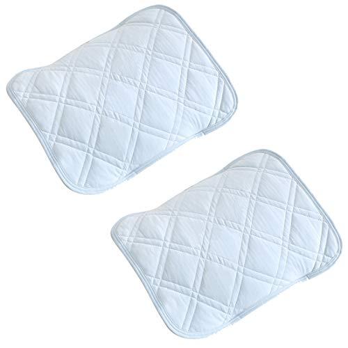 sea-maid 서늘한 베개 접촉 냉감 베개 패드 매트 커버 항균 방취 시원한 느낌 통기 흡습 흡한 속건 여름용 침구 【2 장 세트】 45X55cm 하늘색 (하늘색, 45X55cm)