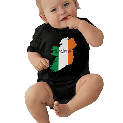 U88oi-8 Short Sleeve Cotton Bodysuit for Baby Boys