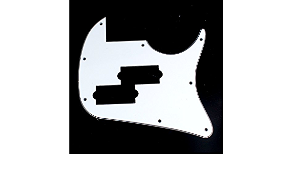 F29 IBANEZ TR50 Bass Guitar Pickguard 3ply Black Close-out
