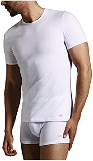 Renato Balestra 3 Maglia Corpo Uomo m//m Girocollo Jersey Cotone 100/% c//Costina Bianco Art.MAIORCA