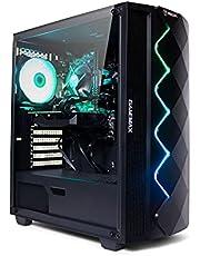 Fierce Gaming PC - Intel Core i5 9400F 4.1GHz, GTX 1650 4GB, 16GB 3000MHz, 240GB Solid State Drive, 1TB Hard Drive, Windows 10 Installed, RGB Lights (Crusader 1141829)