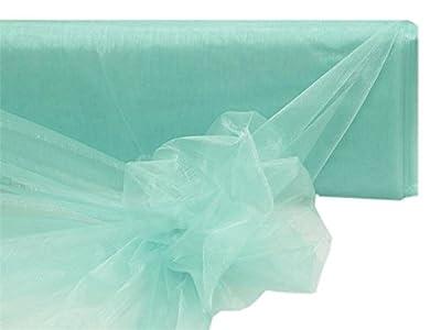 BalsaCircle 54-Inch x 40 yards Sheer Organza Fabric by the Bolt - Wedding Party DIY Sewing Craft Draping Supplies
