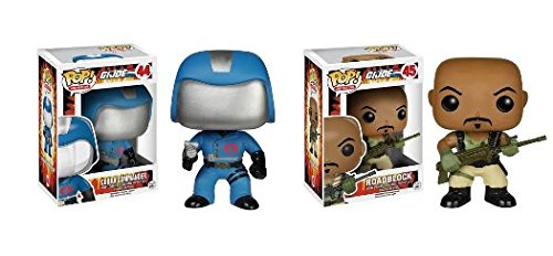 Funko POP! G.I. Joe: Cobra Commander & Roadblock - TV Cartoon Vinyl Figures NEW