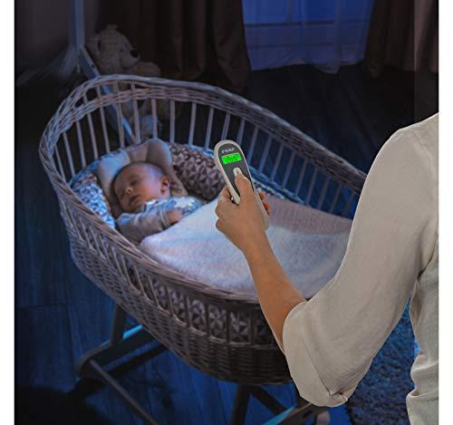 130 g wei/ß reer 98050 Colour SoftTemp 3in1 Infrarot-Fieberthermometer f/ürs Baby mit optischem Fieber-Warner