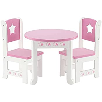 Amazon.com: 18 Inch Doll Furniture Fits American Girl Dolls - 18 ...
