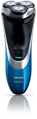 Philips AT890 AquaTouch Plus-AT890/16 Nass- und Trockenelektrorasierer mit Dualprecision Shaving und Pop-up Trimmer