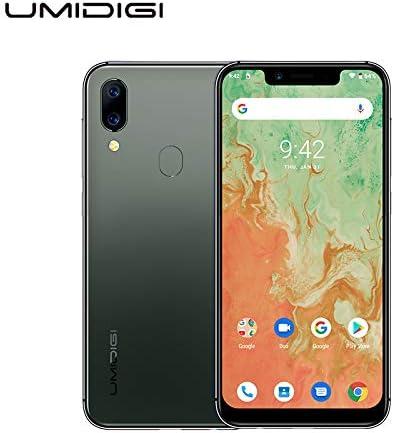UMIDIGI A3X Unlocked Cell Phones 2020, 3GB +16 GB Android 10 5.7″ Incell Mobile Phone, 2 Nano SIMs+Micro-SD, 16MP+5MP+12 MP AI Selfie Camera, Dual 4G Volte, 3300mAh, AI Face Unlock – Green