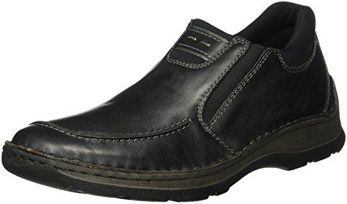 Rieker 5350, Mocasines para Hombre Negro (schwarz/schwarz / 00)