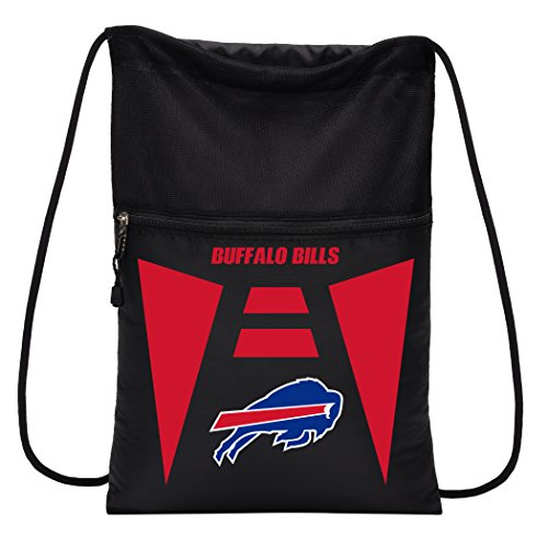 (Officially Licensed NFL Buffalo Bills Team Tech Backpack Backsack, One Size)
