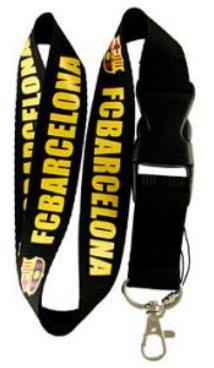 FC Barcelona (Black) Keychain - Chain Fc Barcelona