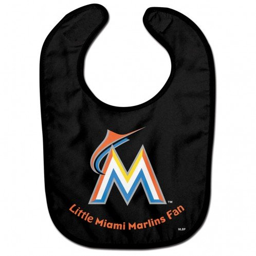 WinCraft MLB Miami Marlins WCRA0116614 All Pro Baby Bib by WinCraft