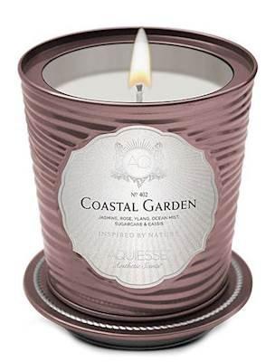 Aquiesse Coastal Garden Tin 11oz Portfolio Collection Scented Soy Candle