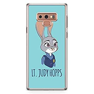 Loud Universe Judy Hopps Zootopia Samsung Note 9 Case Cute Rabbit Bunny Zootopia Samsung Note 9 Cover with Transparent Edges