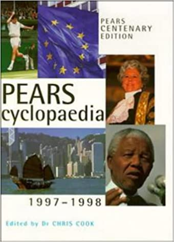 1997 - 1998 Pears Cyclopaedia 106th Edition