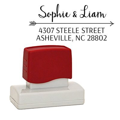 Self-Inking address stamp, Wedding Gift Return Address Stamper, Custom Stamp for Couples, A Classy Address Stamper Personalized for Family, Business, Wedding, or Gift
