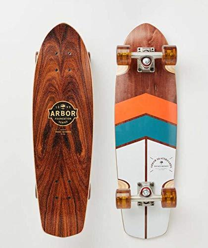 lordofbrands Skate Skateboard Longboard Arbor Pocket Rocket Foundation 19-27 Inches ()