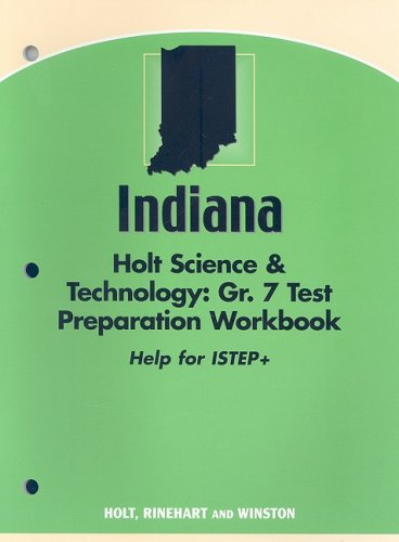 Download Holt Science and Technology Indiana: ISTEP Test Prep Workbook Grade 7 pdf