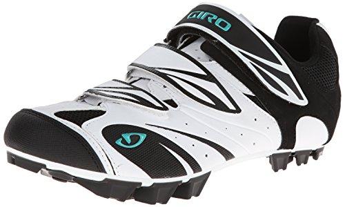 Giro GF23140 Damen Reila Dirt Bike Schuhe Wht / Blk / Dynastie Grün