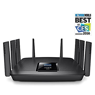 Linksys AC5400 Tri Band Wireless Router, Works with Amazon Alexa (Certified Refurbished) (EA9500-RM2)