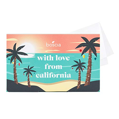 Boscia With Love From California Hibiscus Blotting Linens, 100 ct.