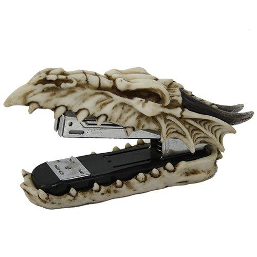 Archaic Bone Dragon Desktop Stapler Decorative Novelty (Stapler Decorative)