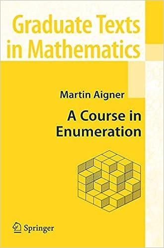 neue bilder von Super Specials bis zu 80% sparen A Course in Enumeration (Graduate Texts in Mathematics ...