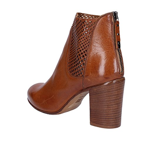 Marrone Leather Ab335 4 Pelle Boots 37 Uk Ab335 Stivaletti Women's Uk eu Moma Brown Delle 4 Ankle In Moma Donne ue 37 zSqwvI1fx
