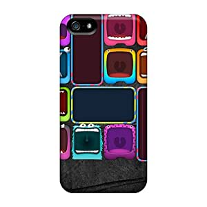 Shock-dirt Proof Monster Case Cover For Iphone 5/5s