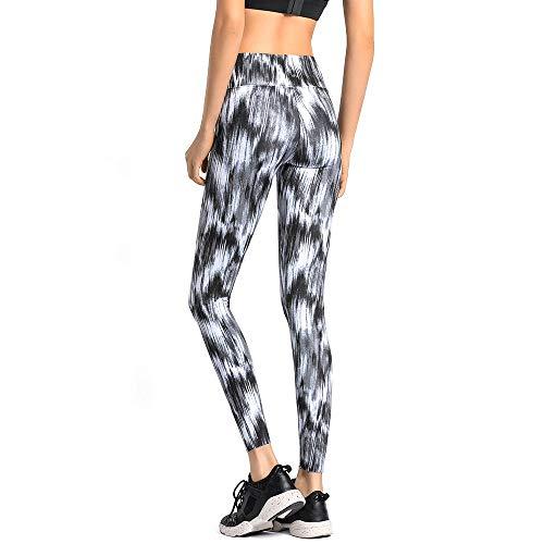 Yoga Cadente Elasticizzata Calzamaglia Pantaloni Non Traspirante Asciutta Elastica Alta Vita Stampa Aderente A Sportiva Comfort Fitness Donna aUwUS58q