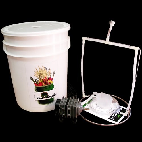 Dirt Simple 5 Gallon Compost Tea Brewer