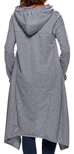 erdbeerloft - Jerséi - Opaco - para mujer gris claro