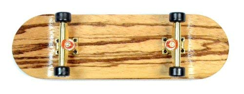 SOUTHBOARDS Stainless Finger Skateboard Zebra/Go/Cultured Freshwater South Boards Hand Made Wood Fingerboard Real Wood