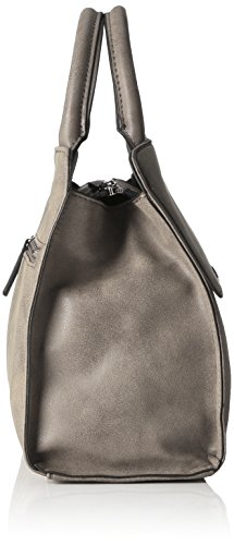 GERRY WEBER Summer Breeze Handbag Mhz - Bolso de mano Mujer Grau (Grau (light grey))