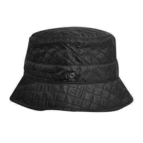 Betmar Women's Quilted Bucket Black One -