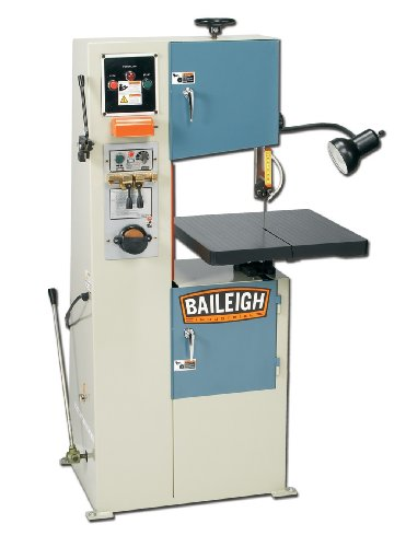 Baileigh BSV-12 Vertical Band Saw, 1-Phase 220V, 11-3/8 Throat Depth