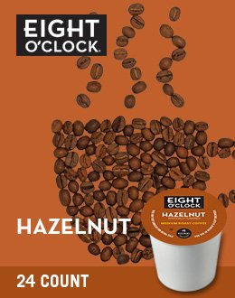 Eight O'Clock Coffee Hazelnut K-Cups