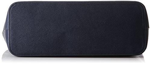 Twin Set Aa7pds, Borsa Tote Donna, 13x28x33 cm (W x H x L) Blu (Blue Black)