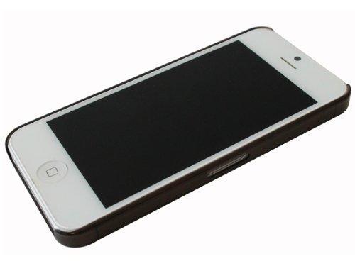 avci Base 4260344981014Frost Crystal étui pour Apple iPhone 5Noir