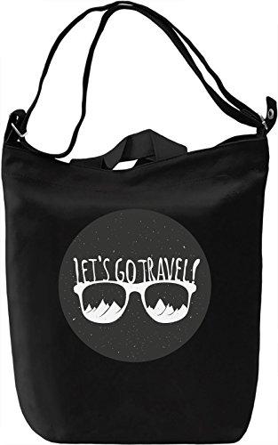 Travel Borsa Giornaliera Canvas Canvas Day Bag  100% Premium Cotton Canvas  DTG Printing 