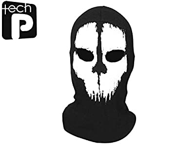 Tech-p Call Of Duty Cycling Lycra Balaclava Full Face Skull Mask