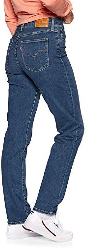Levis spodnie damskie dżinsy High Waist 724 HIGH Rise Straight to The Nine 18883-0015: Odzież