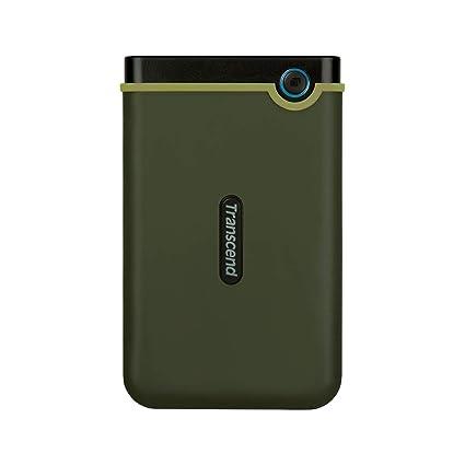 Transcend StoreJet 25M3G - Disco duro externo de 1 TB (USB 3.1 Gen 1)
