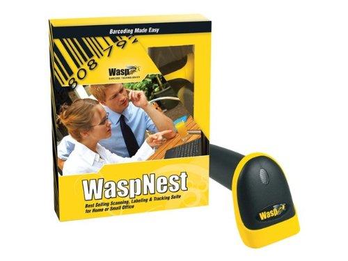 Wasp Nest WLR8900 CCD LR Barcode Scanner Suite - USB - complete package (633808390389) - ()