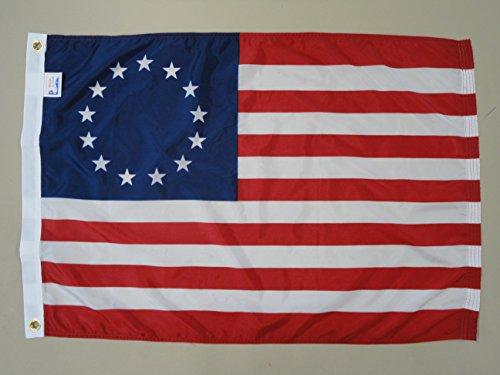 Betsy Ross Flag 5X8 Foot Dyed SolarMax Nylon