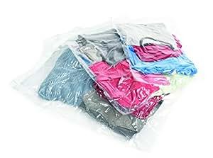 Samsonite Luggage 3 Piece Compression Bag Kit, Clear, No Size