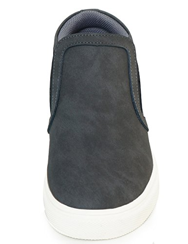 Sneakers 2 MNX15 Increase Sneakers Wedge OLIVE 4 Shoes High Elevator Mens Height GRAY Gray Heel qv1w1RBZ